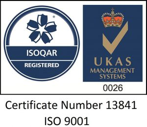 certified to ISO 9001